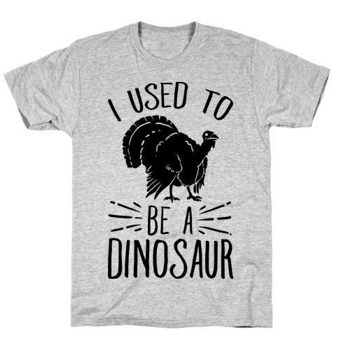 I Used to Be a Dinosaur T-Shirt