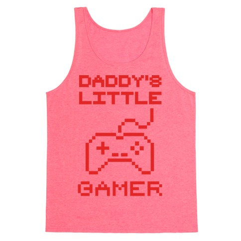 Daddy's Little Gamer Tank Top