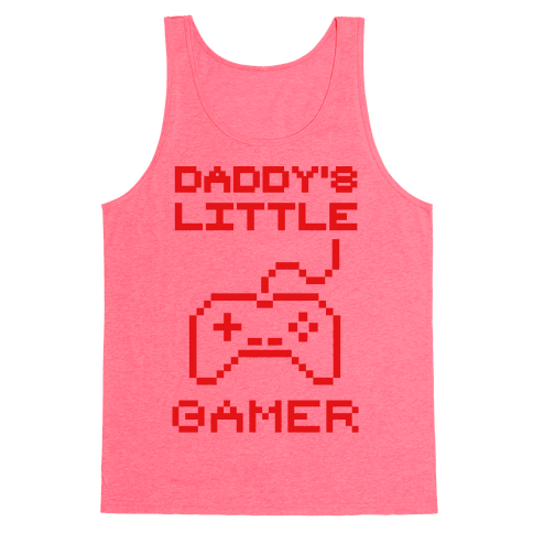 Daddy's Little Gamer Tank Top