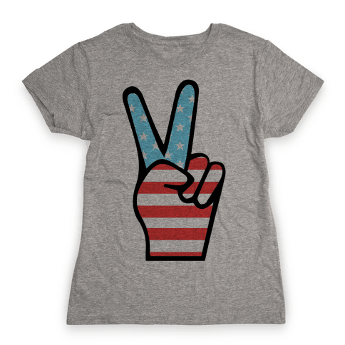 Peace Man Womens T-Shirt