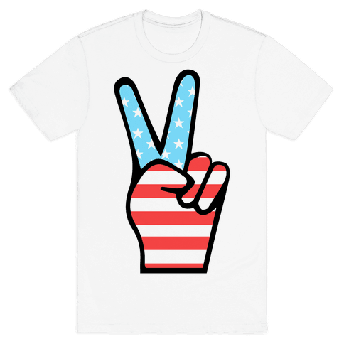 Peace Man Mens T-Shirt