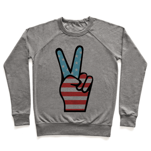Peace Man Pullover