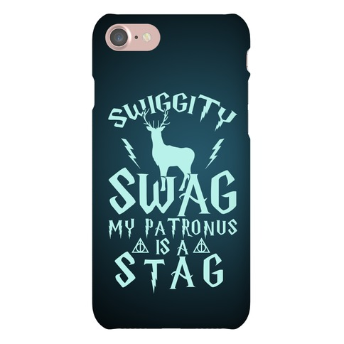 Swiggity Swag My Patronus Is A Stag Phone Case