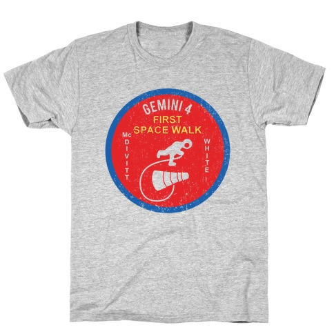 Gemini 4 First Space Walk T-Shirt