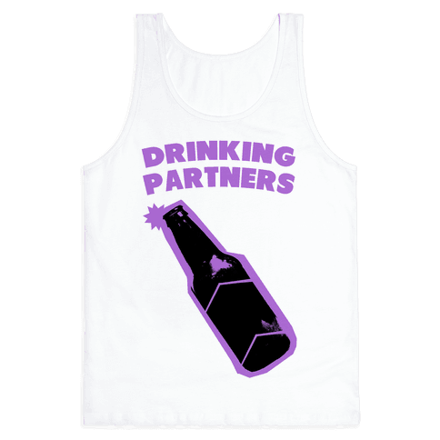 Drinking Partners (Purple) Tank Top