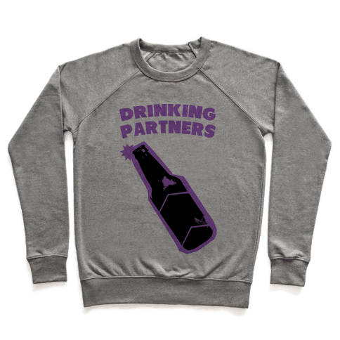 Drinking Partners (Purple) Pullover