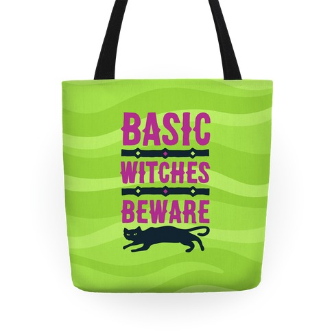 Basic WItches Beware Tote