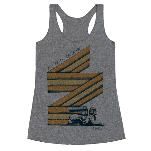 Time Machine Racerback Tank Top