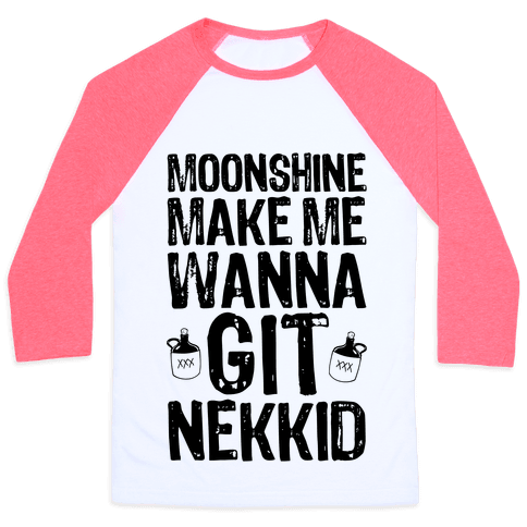 Moonshine Baseball Tee