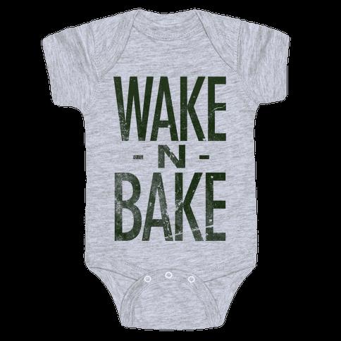 Wake -N- Bake Baby Onesy