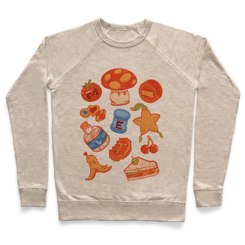 Gamer Food Items Pullover