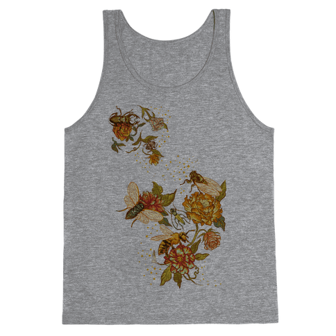 Florals & Insects Tank Top