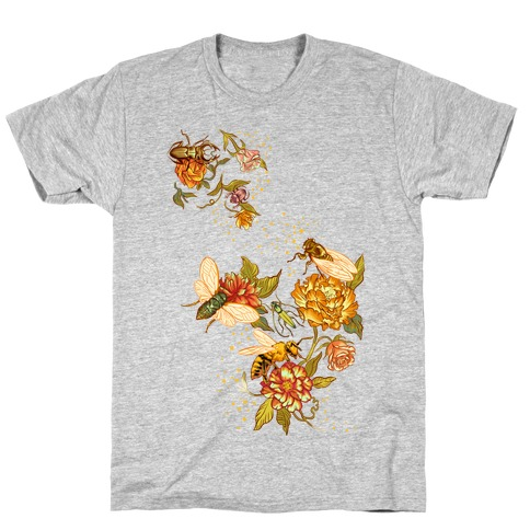 Florals & Insects T-Shirt