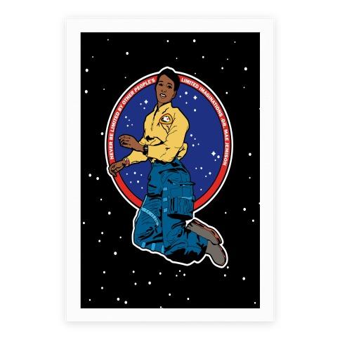 Dr. Mae Jemison Astronaut Poster