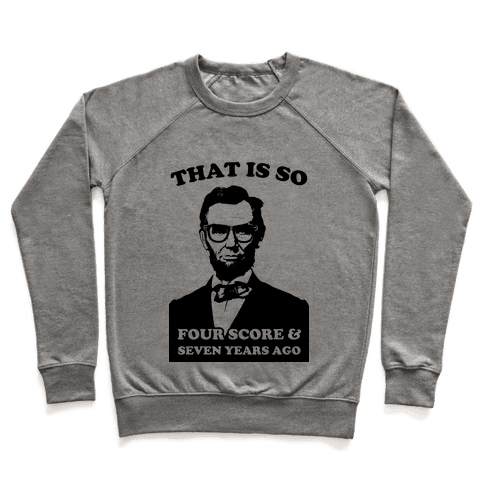 Hipster Abe (tank) Pullover