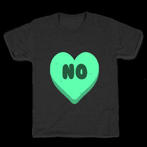 Valentine's Day Heart No Kids T-Shirt