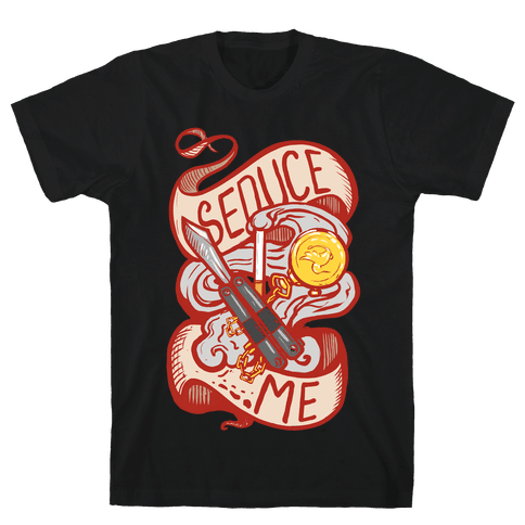 Seduce Me (Spy) Mens T-Shirt