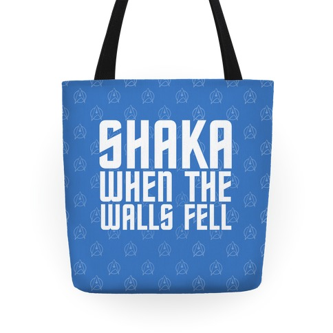 Shaka When the Walls Fell Tote
