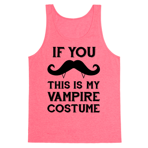 This Is My Vampire Costume Tank Top