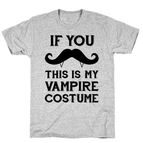 This Is My Vampire Costume T-Shirt
