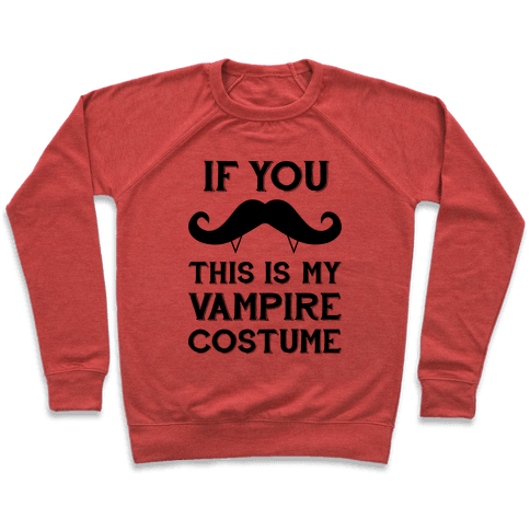 This Is My Vampire Costume Pullover