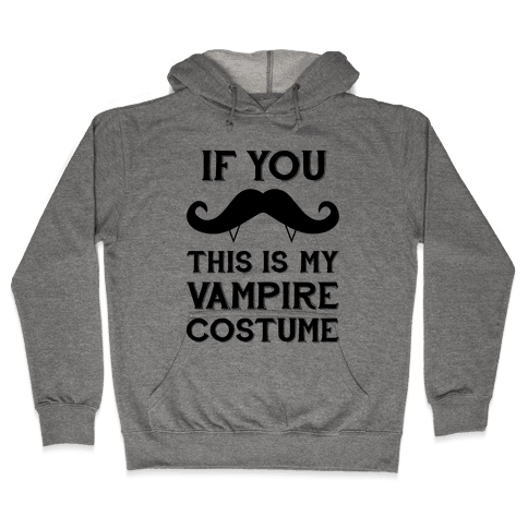This Is My Vampire Costume Hooded Sweatshirt