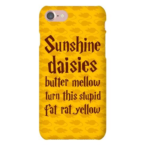 Sunshine, Daisies, Butter Mellow Phone Case