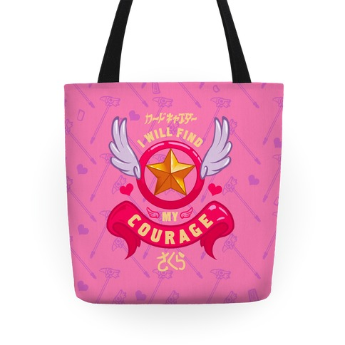 Cardcaptor Sakura: I Will Find My Courage Tote Tote