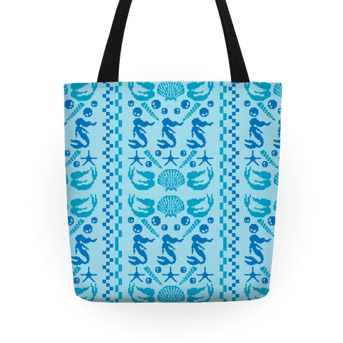 Ugly Mermaid Sweater Tote