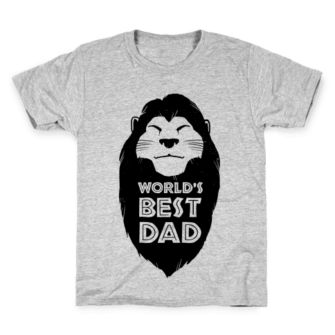World's Best Dad (Mufasa) Kids T-Shirt