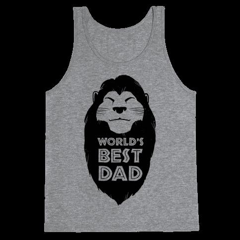 World's Best Dad (Mufasa) Tank Top