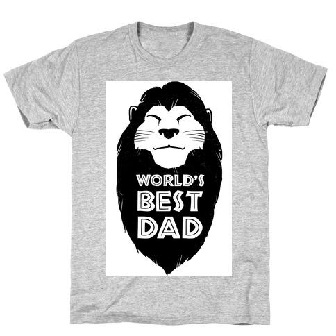 046652ec4 World's Best Dad (Mufasa) T-Shirt