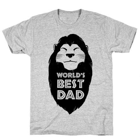 World's Best Dad (Mufasa) Mens T-Shirt