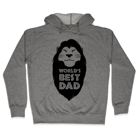 World's Best Dad (Mufasa) Hooded Sweatshirt