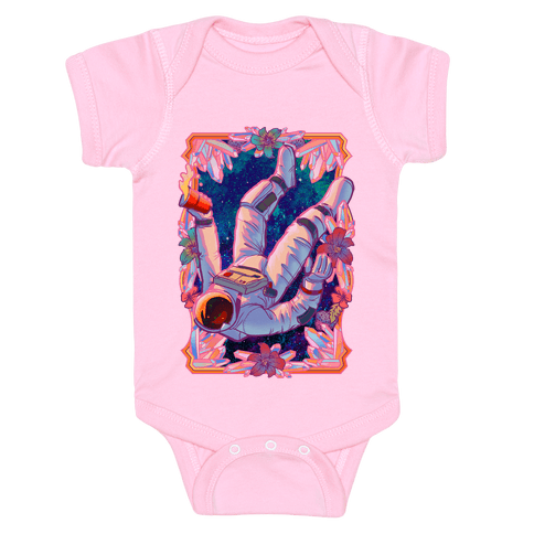Pastel Space Trip Baby Onesy