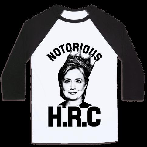 Notorious HRC Baseball Tee