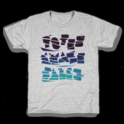 Totes Amazeballs Kids T-Shirt
