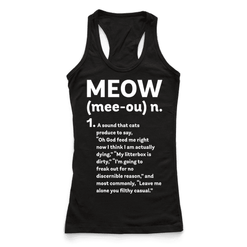 Meow - Noun