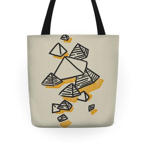 Geometric Pyramids Tote
