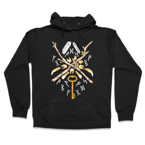 Occult Divination Collection Hooded Sweatshirt