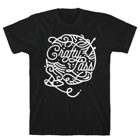 Crafty Lass Mens T-Shirt