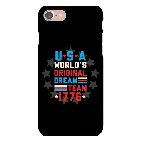 USA World's Original Dream Team 1776 Phone Case