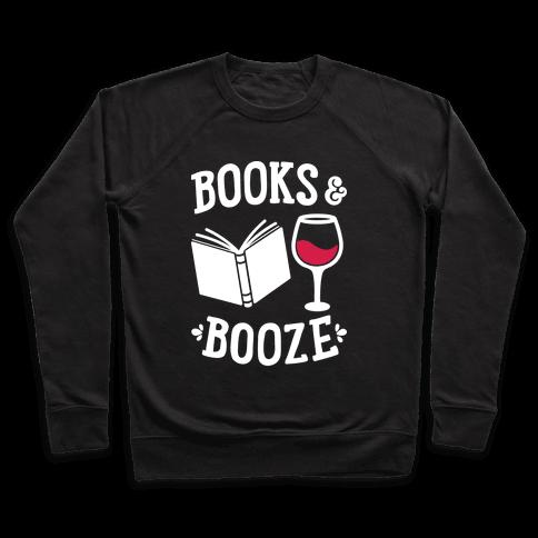 Books & Booze Pullover