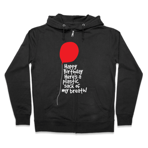 A Sack Of Breath! Zip Hoodie