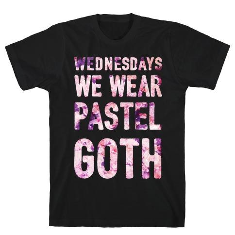 Wednesdays We Wear Pastel Goth T-Shirt