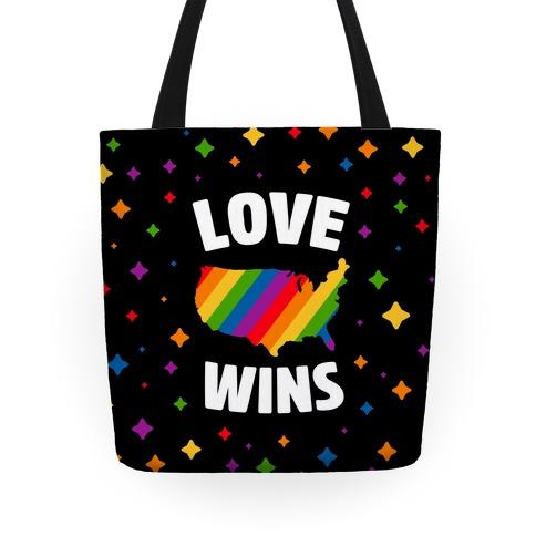 Love Wins Tote