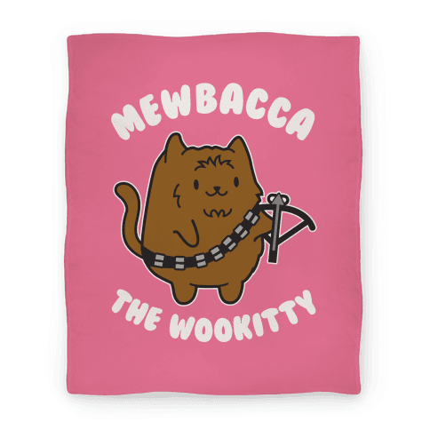 Mewbacca the Wookitty Blanket Blanket