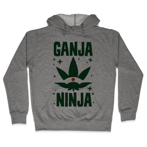 Ganja Ninja Hooded Sweatshirt