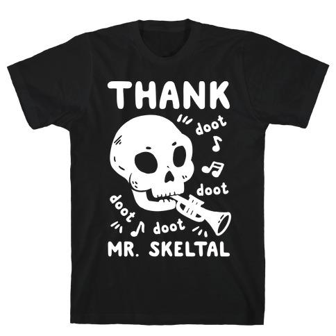 Thank Mr. Skeltal Mens T-Shirt
