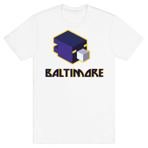 Baltimore Blocks Mens T-Shirt
